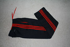 New Adidas Tech Fleece sweat Pant three stripes AI1397 Black/Red small or Medium
