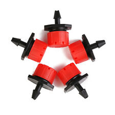50pcs Adjustable Micro Irrigation Drippers Sprinklers Emitter Drip System