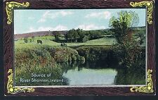 SHURRY PUBLICATIONS POSTCARD SOURCE OF THE RIVER SHANNON IRELAND C1910