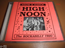 HIGH NOON the ROCKABILLY TRIO finland release RATTLE SNAKE MAN devil woman