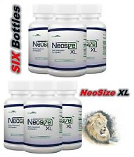 6 Bottles Original NeoSize XL Supply Best Male Stamina Enhancement Pills 09/2019