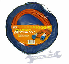 10 Metre Caravan Camping Site Mains Hook Up Lead 230 Volt - 10M