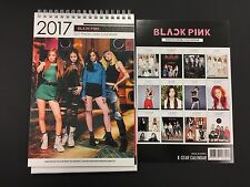 Kpop 2017 & 2018 K pop BLACK PINK High Quality Official Photo Desk Calendar