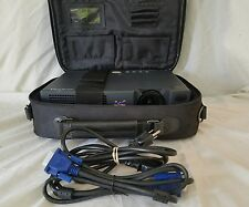 LCD Projector - ViewSonic PJ550 carrying case and cables included