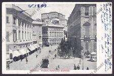 GENOVA CITTÀ 777 Esposizione Internaz. 1914 COPPEDÈ Cartolina viagg 1914 SCIUTTO