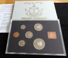 1979  BRUNEI 6 COIN YEAR SET WITH ALL ORIGINAL PACKAGING THE ROYAL MINT