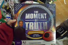 The Moment of Truth Board Game - NEW STILL IN SHRINK WRAP