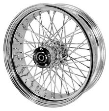 "60 SPOKE 16"" BILLET HUB REAR WHEEL HARLEY SOFTAIL FLST FLSTC HERITAGE DELUXE"