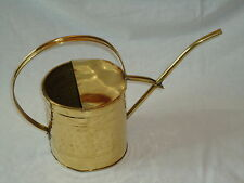 Brass Watering Can 4 pint -Plant-Planter Small Gift Garden Flowers Bed Shed