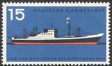 Germany 1957 Merchant Shipping Day/Ships/Boats/Nautical/Transport 1v( n42086)
