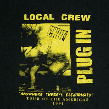 VTG MOTLEY CRUE LOCAL CREW 1994 TOUR OF THE AMERICAS T-SHIRT XL CONCERT ORIGINAL