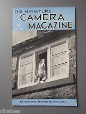 R&L Vintage Mag, The Miniature Camera August 1951, Rax Enlarger/Contessa