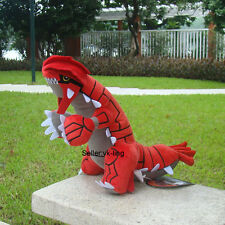"Groudon 13"" Pokemon Go Collectible Plush Toy Nintendo Game Stuffed Animal Doll"