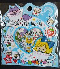 Sweetie World Alice Sticker Sack Flakes seals Kawaii Kamio Japan