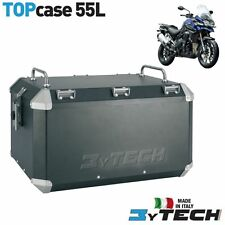 ALUMINIUM 55 LT TOP CASE BOX PANNIER TRIUMPH 1215 TIGER EXPLORER XC '12/'13