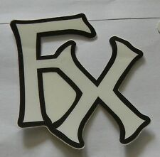 FOX RACING ۞ Aufkleber Sticker Decal ۞  KTM ~ MTB ~MX ~ Quad ۞ 6 x 7 cm