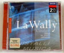 Catalani LA WALLY - TEBALDI, DEL MONACO, CAPPUCCILLI - CLEVA - 2 CD Sigillato