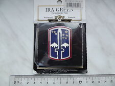 (A8-ZAD50) 172nd Infantry Brigade Combat Service ID Badges