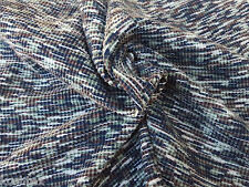Cotton Blend Thermal Knit Fabric by the Yard Waffle Weave -  Multi Color 1/16