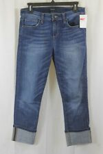 WOMENS JOES JEANS DARREN MEDIUM WASH CROPPED CUFFED JEANS SIZE 28 NWT $165