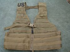 USMC US Army Molle II Fighting Load Carrier Coyote Brown - very good condition