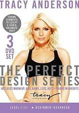 Tracy Anderson The Perfect Design Series  Level I-III (DVD 3-Disc Set) Brand New