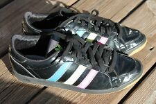Adidas patent rainbow soccer sneakers shoes womens 8 _s240