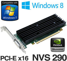 nVidia Quadro NVS 290 256MB PCI Express x16 Dual Display DMS-59 Graphics Card