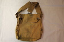 WW2 British Canadian Gas Mask Carrier Bag only