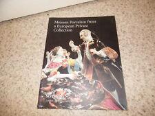 1997.catalogue vente sotheby's Meissen Porcelain..