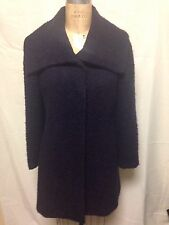 Alfani Boucle Wool Car Coat 2 Purple   New w/ Defects