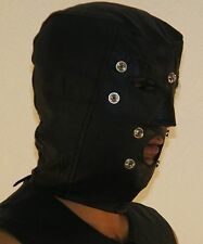 901 Original Leather Hood,Detached Blindford,Leather mask,ledermaske,Masque