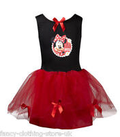 Disney Princess MINNIE MOUSE Red fairy TUTU Fairies Fancy Dress up Costume Party