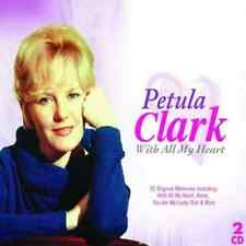 PETULA CLARK - With All my heart - 54 Track Double CD