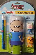 Funko Adventure Time Jake Tin-Tastic PENCIL ERASERS STYLIZED COLLECTOR TIN