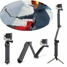 Regolabile a 3 vie STAFFA HAND GRIP ARM FOTOCAMERA TREPPIEDE Mount per GoPro Hero 3 3 + 3