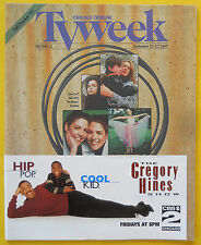 FALL PREVIEW Chicago Tribune TV Week guide Sept 21 1997 Gregory Hines Show
