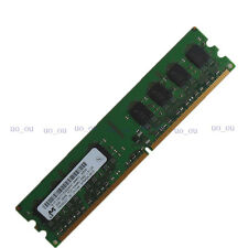 Micron 2GB PC2-6400U DDR2 800 MHZ CL6.0 RAM Low-Density Desktop memory DIMM 2RX8
