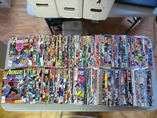 AVENGERS 183 ISSUE COMIC RUN 219-393 ANNUALS 11-23 SPECIALS HI GRADE