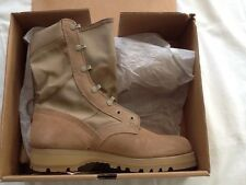 USGI McRae Desert Tan Marine Hot Weather TYPE II Combat Boots Mens 9 WIDE