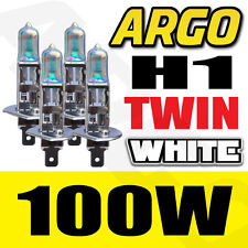 HONDA CIVIC TYPE S H1 100W HALOGEN WHITE HEADLIGHT BULBS 4 PCS