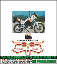 kit adesivi stickers compatibili  tamanaco 125 lucky ex 1988