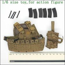 Y37-57 1/6 scale ACE Navy Seals Tactical Vest & Drop Leg Carrier set