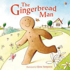 Preschool Classic Story - Usborne Picture Book: THE GINGERBREAD MAN - NEW