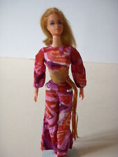 1970 Vintage Live Action Barbie With Original On Stage Barbie Outfit #1152, Mod!