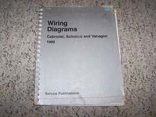 1989 VW Volkswagen Vanagon Electrical Wiring Diagram Service Manual Syncro T3
