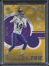 STEFON DIGGS 2015 ABSOLUTE CATCHING FIRE VIKINGS JERSEY #D /199