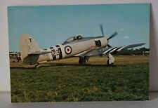 Charles Skilton's Hawker Sea Fury FB 11 Royal Air Force  Postcard