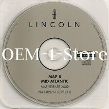 2003 FORD EXPEDITION EDDIE BAUER NAVIGATION MAP DISC CD 8 MID ATLANTIC DE NJ VA