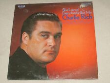 Charlie Rich She Loved Everybody But Me 1970 RCA Camden COUNTRY POP Sealed LP